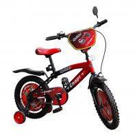 Велосипед 2-х колес 16 151602 1шт со звонком, зеркалом