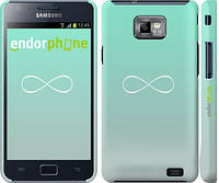 "Чехол на Samsung Galaxy S2 i9100 Знак бесконечности ""3204c-14"""