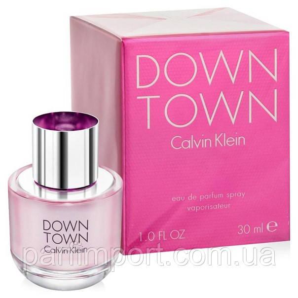 CALVIN KLEIN DOWN TOWN EDP 30 ml Парфюмированная вода (оригинал подлинник Франция)