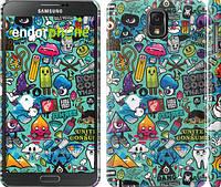"""Чехол на Samsung Galaxy Note 3 N9000 Стикер бомбинг 1 """"693c-29"""""""