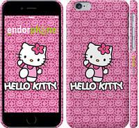 "Чехол на iPhone 6s Hello kitty. Pink lace ""680c-90"""