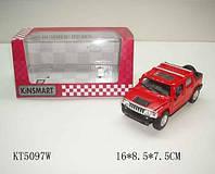 Автомодель Металлическая 1:32 Hummer H2 KT5097W Kinsmart