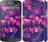 "Чехол на Samsung Galaxy Grand 2 G7102 Пурпурные цветы ""2719c-41"""