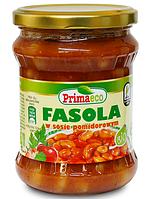 ВЕГА фасоль в томатном соусе BIO 440 гр Primaeco