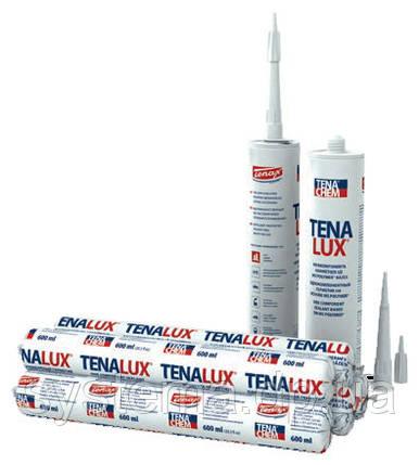 TENALUX (Теналюкс) 111M - Однокомпонентный герметик для строительных конструкций, RAL 9003, белый, 600 мл, фото 2