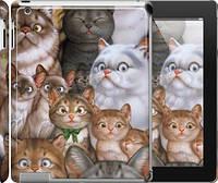 "Чехол на iPad 2/3/4 коты ""1653c-25"""