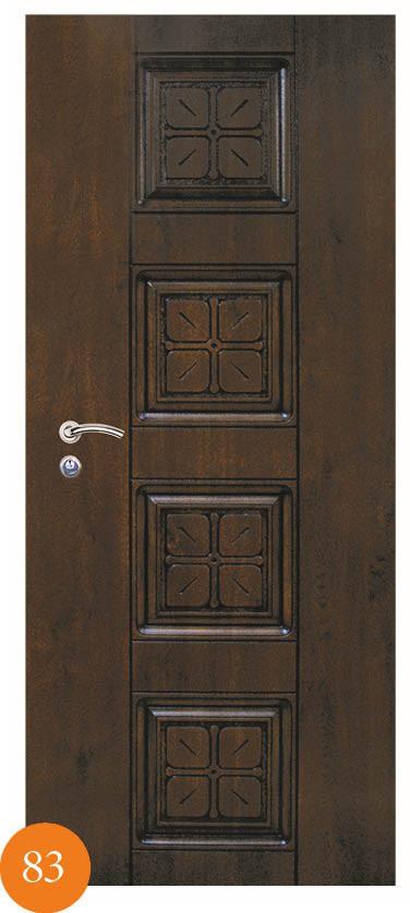 Двери входные металлические Термопласт™ Модель 83 - Товары для дома в Киеве