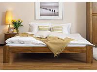 """Кровать двуспальная деревянная от производителя """"Симпл"""""""