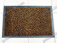 Коврик грязезащитный Гепард, 40х60см., коричневый