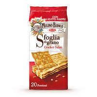 Крекер Barilla Mulino Bianco Sfoglia Di Grano (с солью) 500гр.