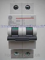 Автоматический выключатель General Electric G60 2-х полюсный 2А G62 C02 6кА(Венгрия)