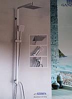 Душевая система колонна квадрат Ganzer GZ 25074