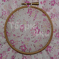 Ткань для пэчворка, кукл тильда в розовый цветочек