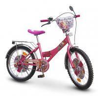 Велосипед 2-х колес 18 141808 1шт со звонком, зеркалом, с вставками в колесах,подножкой