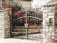 Ворота кованые 22