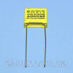Конденсатор X2-MKP  0,01µF 275VAC  10%  TC