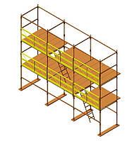 Леса строительные приставные штыревые Э-507 (тяжелые)