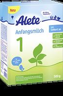 Alete Anfangsmilch 1 von Geburt an - Начальная молочная смесь 1 с рождения,  0,5 кг