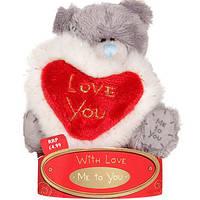 Мишка Тедди 7,5см держит сердце Me To You