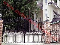 Ворота кованые 24