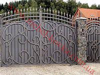 Ворота кованые 25