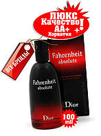 Christian Dior Fahrenheit Absolute Хорватия Люкс качество АА++ Кристиан Диор Фаренгейт Абсолют