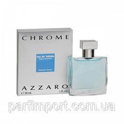 Azzaro Chrome EDT 30 ml туалетная вода мужская (оригинал подлинник  Франция)