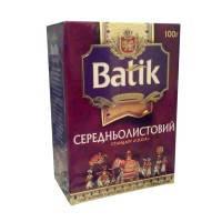 Чай Batik Батик среднелистовой  FBOP 100г черный