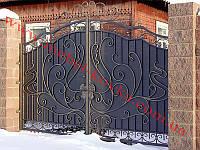 Ворота кованые 26