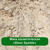 Мика косметическая «Silver Sparkle», 3 грамма