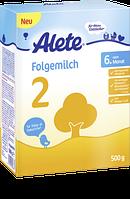 Alete Folgemilch 2 nach dem 6. Monat, Folgemilch - Молочная смесь после 6-го месяца,  0,5 кг