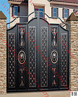 Ворота кованые 29
