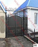 Ворота кованые 34