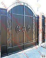 Ворота кованые 33