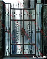 Ворота кованые 37