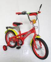 Велосипед 2-х колес 18 151811 1шт со звонком, зеркалом