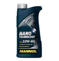Полусинтетическое моторное масло Mannol Nano Technology 10W40 SM/CF 1L