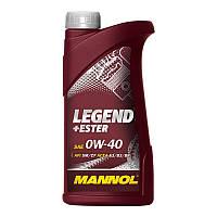 Синтетическое моторное масло MANNOL LEGEND+Ester 0W-40 (1L)
