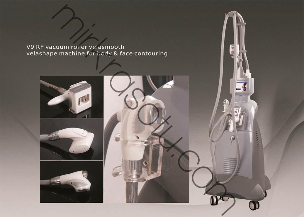 Velashape V9C вакуумно роликовый аппарат 3 роллера