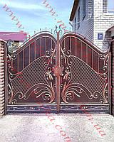 Ворота кованые 38