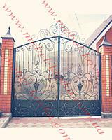 Ворота кованые 39