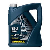 Масло минеральное для грузовых автомобилей Mannol TS-2 SHPD 5L