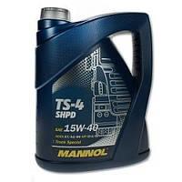 Масло минеральное для грузовых автомобилей   Mannol TS-4 SHPD  5L