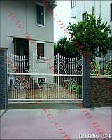 Ворота кованые 40