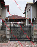 Ворота кованые 42