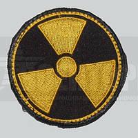 Шеврон Радиация круглый