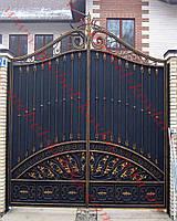 Ворота кованые 43