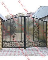 Ворота кованые 44