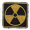 Шеврон Радиация квадрат