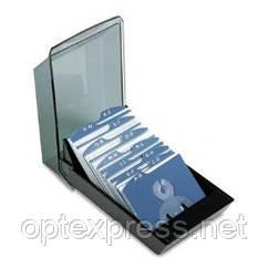 Закрытая  картотека VIP V для 100 визиток 57х102мм ROLODEX 67208